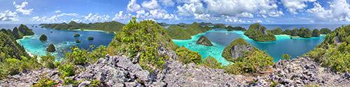 Wayag - Panorama