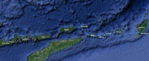 Tourverlauf zu den vergessenen Inseln 2013