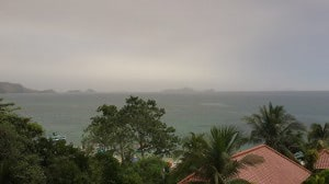 Smog über Labuhan Bajo (31.05.2014)