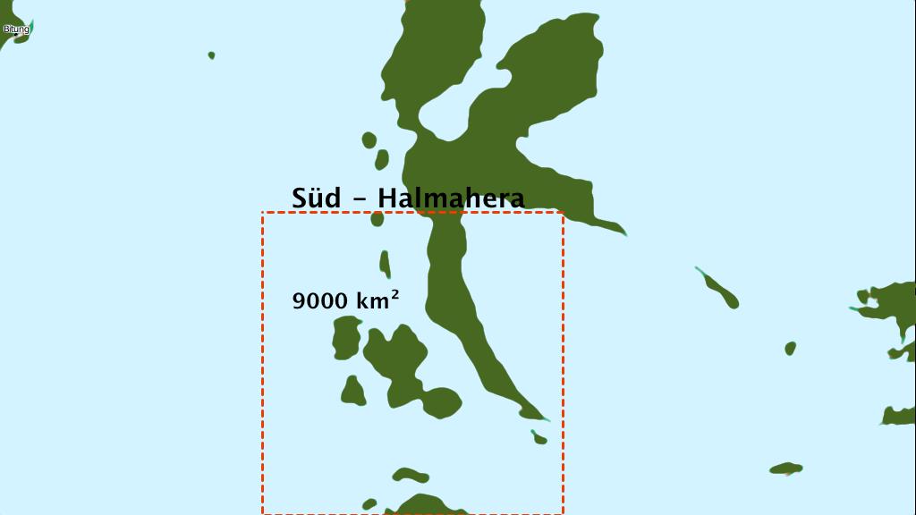 Tauchverbot in Süd-Halmahera