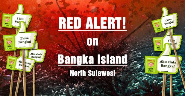 Save Bangka Island, Nort Sulawesi