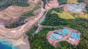 Bergbau auf Bangka