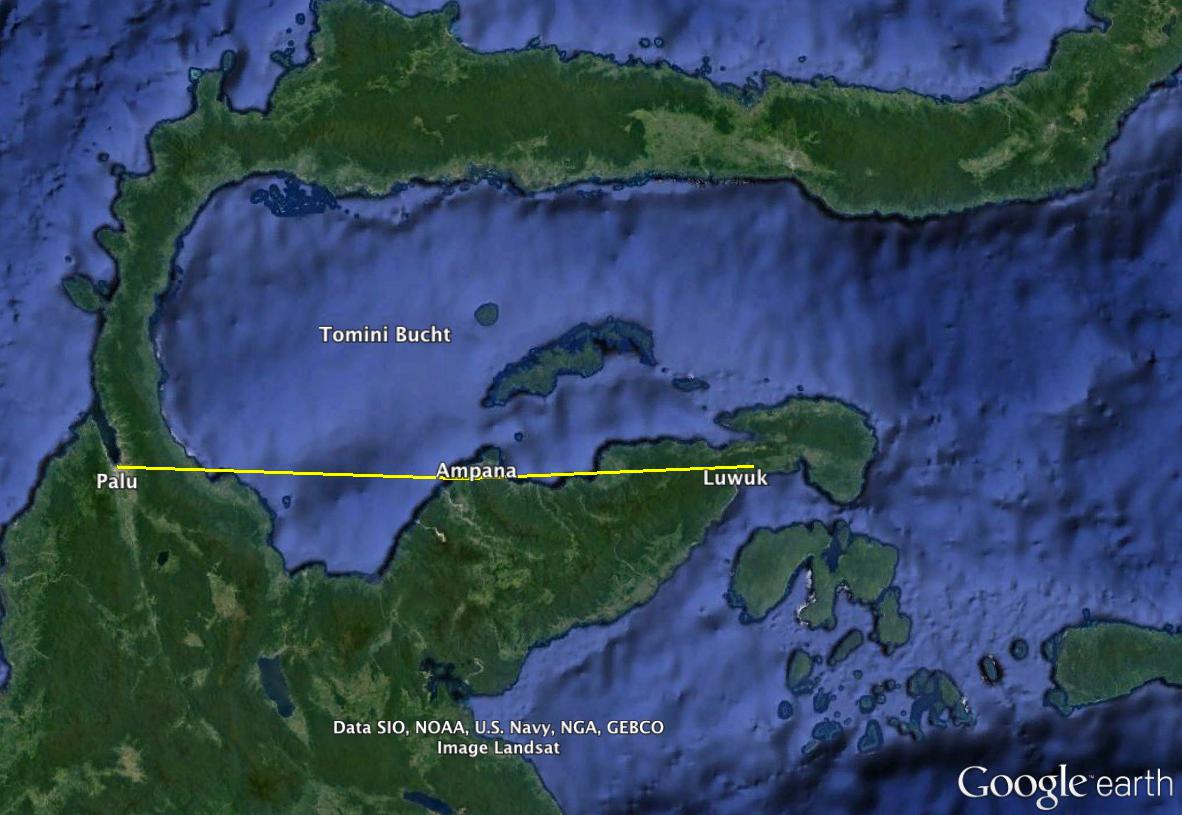 Neue Flugverbindung Togian Inseln