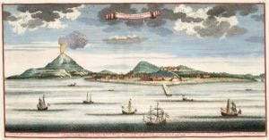 Banda Neira im Jahr 1724