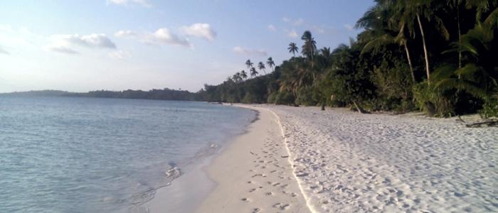 Kei-Inseln Sandstrand