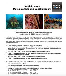 Marinebiologie in Manado