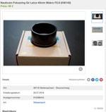 Nauticam Fokusring für Leica 45mm Makro F2.8