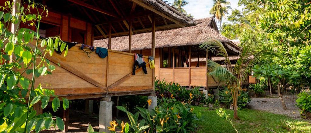 Bungalows mit großer Terrasse