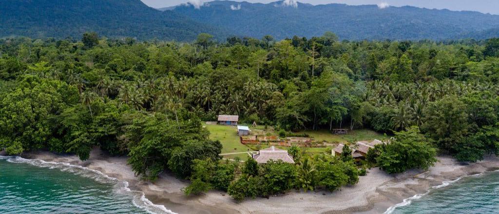 Nakaela Lodge, Blick von Meer