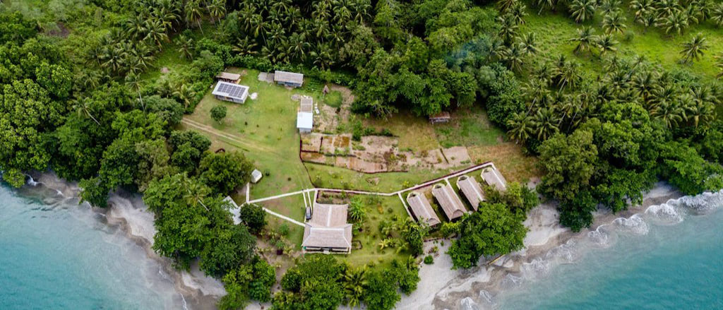 Nakaela Lodge, Blick auf die Anlage