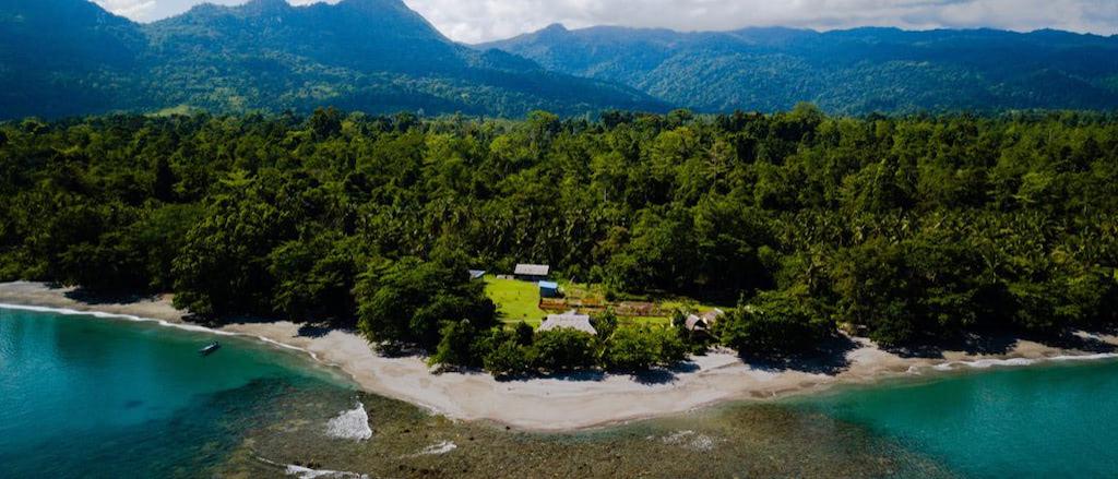 Nakaela Lodge, Nakaela Berge im Hintergrund