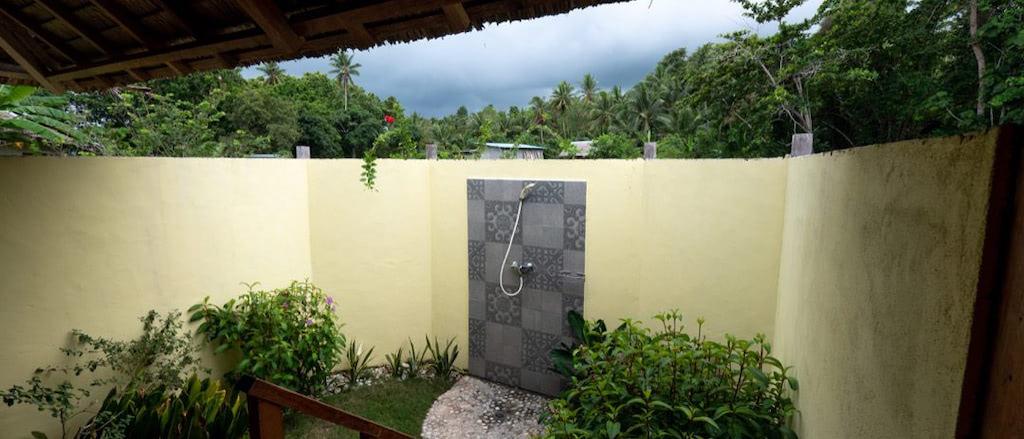 Nakaela Lodge, Dusche