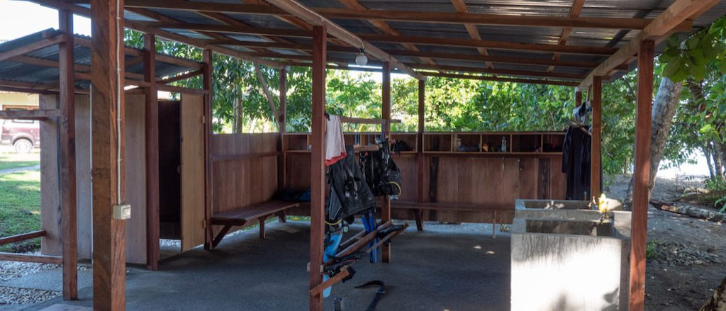 Tauchbasis der Nakaela Lodge