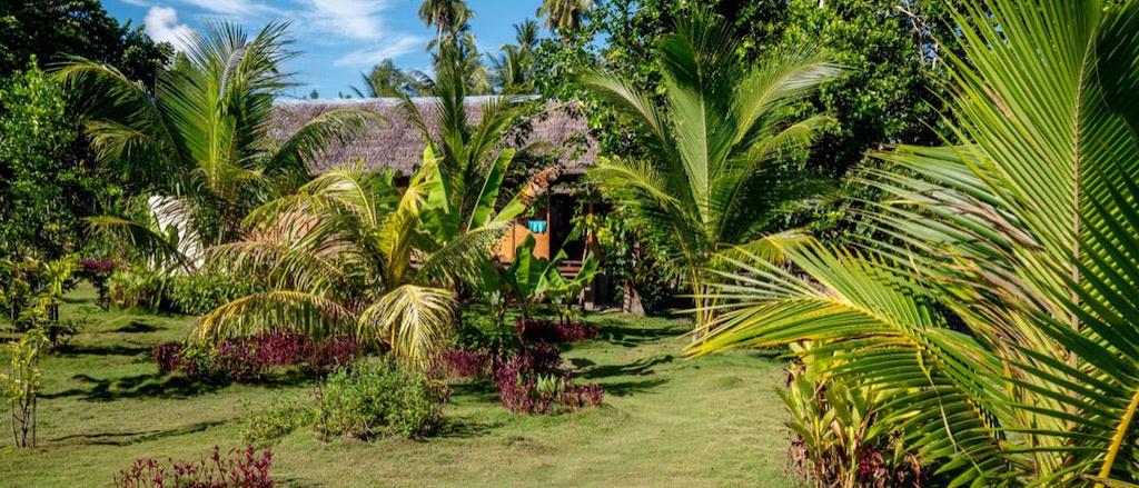 Garten der Nakaela Lodge
