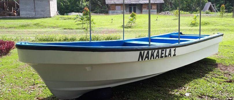 Das neue Tauchboot der Nakaela Lodge