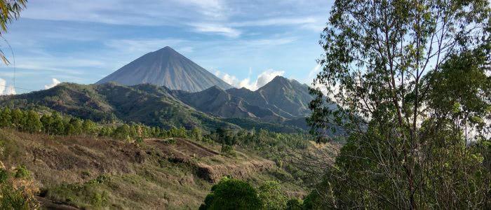 Vulkan Inerie bei Bajawa, Flores