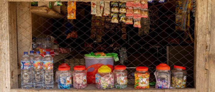 Kiosk in Bena