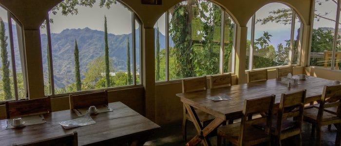 Manulalu Restaurant mit Ausblick
