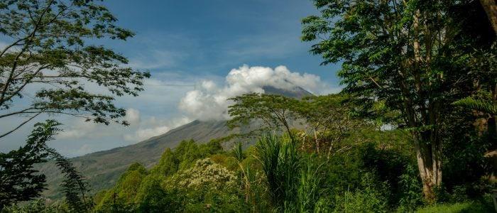 Manulalu, Blick von der Terrasse