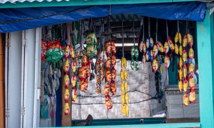 Kleiner Laden im Bajo Dorf