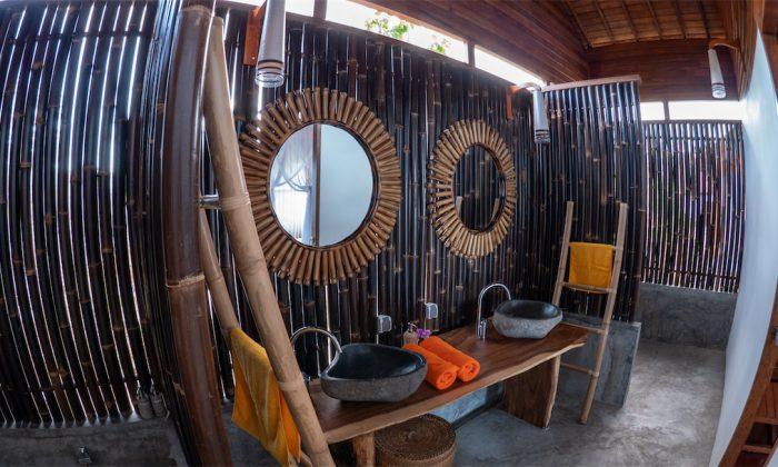 Marind Dive Resort: Blick ins Bad