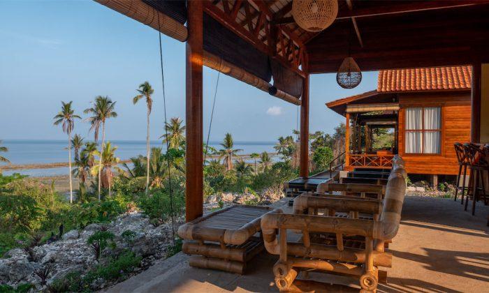 Blick von der Bar Marind Dive Resort