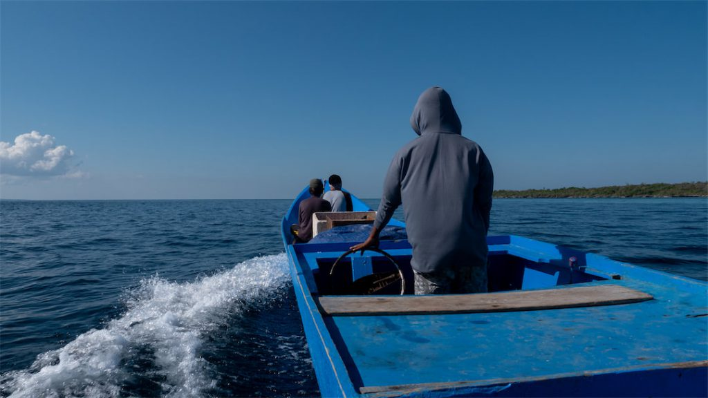 Mit dem Bajo Boot nach Tomia
