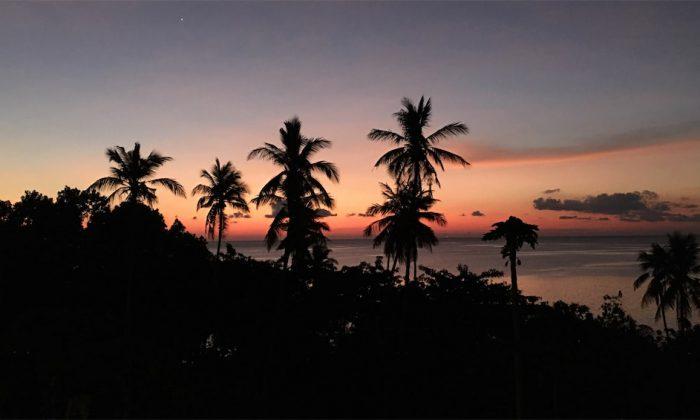 Marind Dive Resort: Stimmung nach Sonnenuntergang