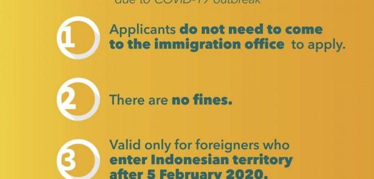 Automatische Visa-Verlängerung