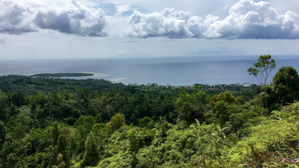 Bogani Homestay Blick auf Meer