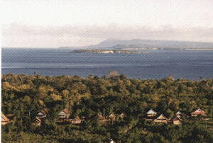 The islands in front of Bira